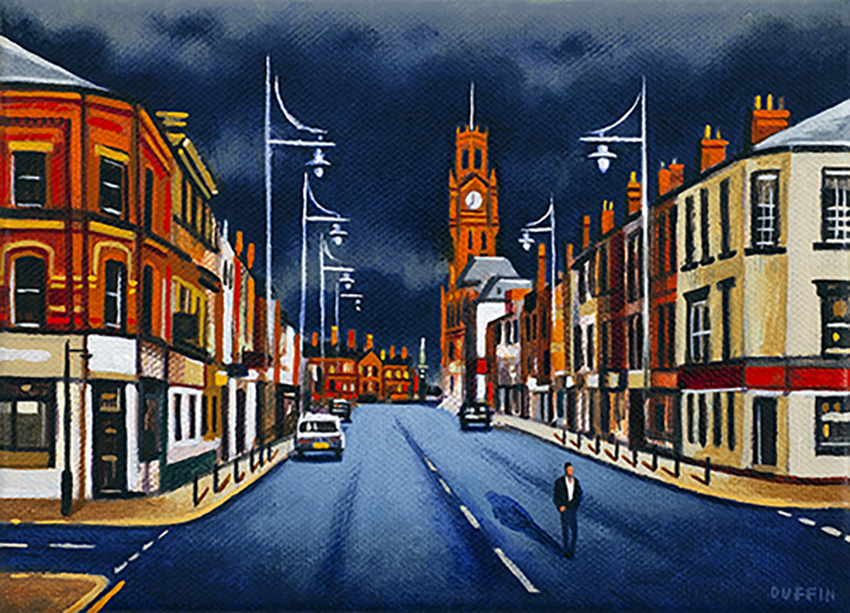 Duke Street - Stormy Sky