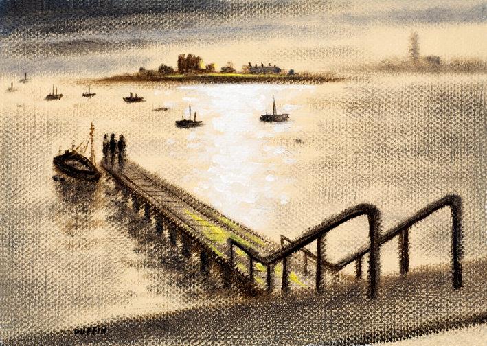 Piel Island Ferry Dawn