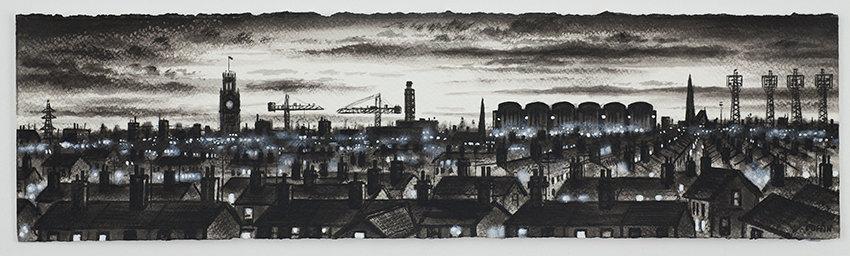 Barrow Panorama - Skyline Dusk