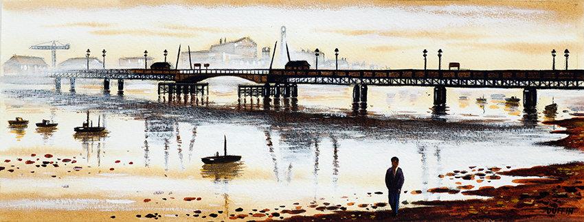 Jubilee Bridge Panorama