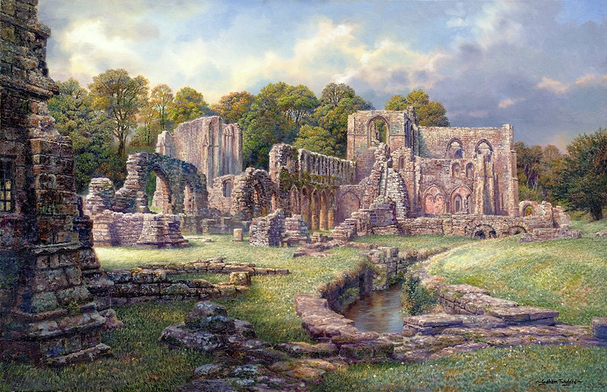 Furness Abbey From The Abbot's Chapel