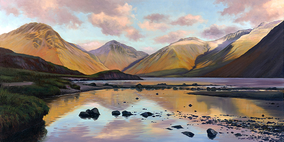 Wastwater, Great Gable and Scafell
