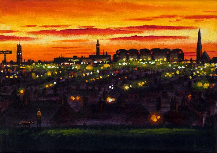 Northern Lights - Barrow Skyline