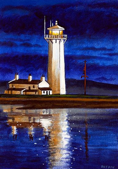 Walney Lighthouse Reflection