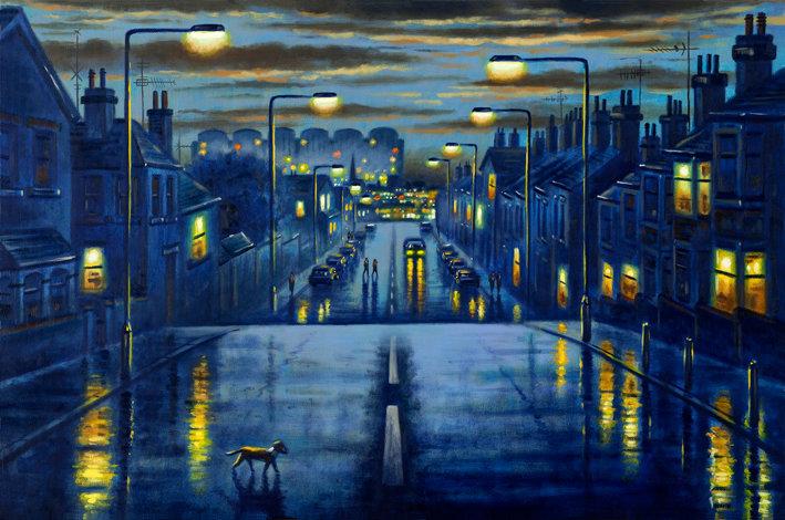Oxford Street Rain