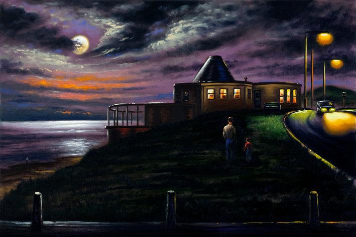 Biggar Bank Winter Moon