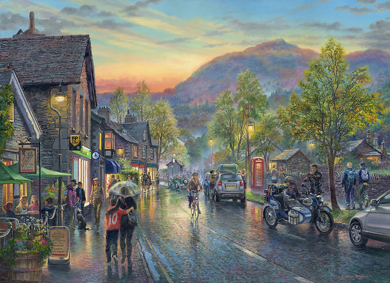 Grasmere by Twilight