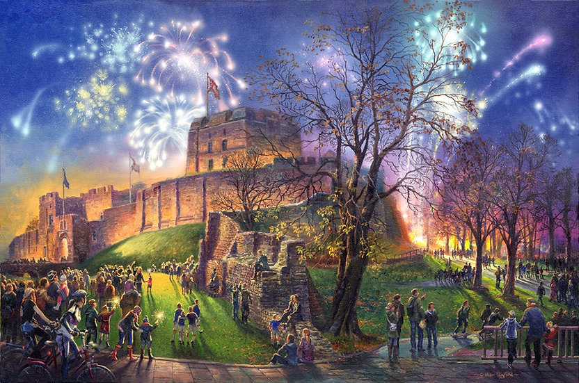 Carlisle, Fireworks at the Castle