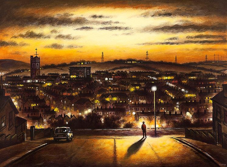 Dalton Skyline - Autumn Night