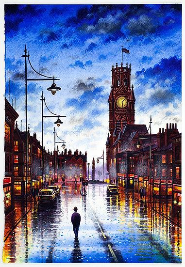 Town Hall Rain