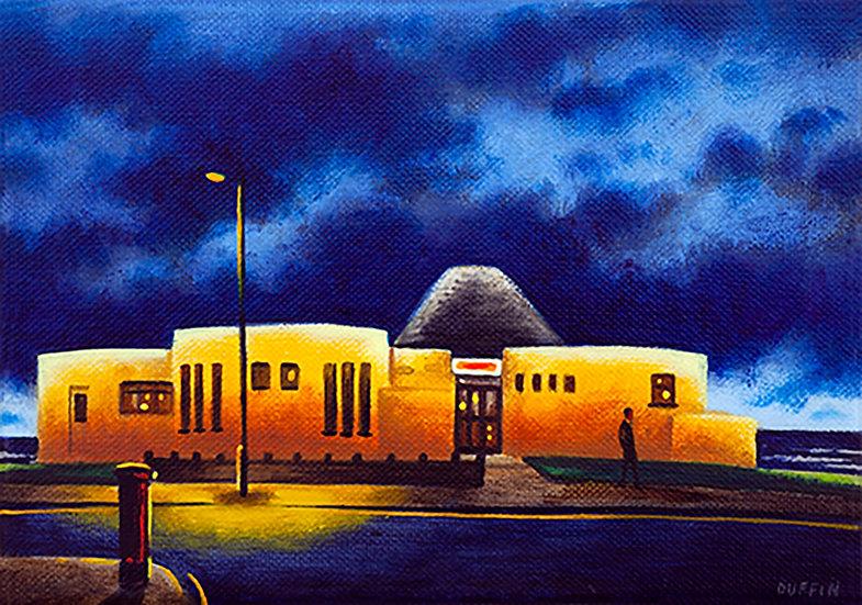 Roundhouse, Walney Island - Stormy Night