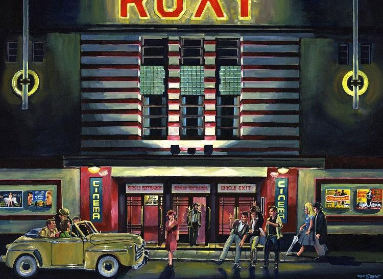 The Roxy Cinema, 1950's