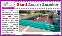 Giant Soccer Snooker - write-up