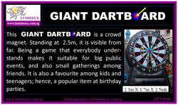 Giant Dartboard