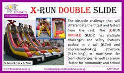 X-run Double Slide