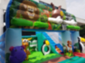 Animal Safari bouncy castle rent singapore