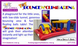 Tot Bounce N`Climb Arena