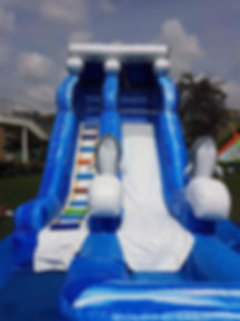 Adults Kids Water play slide rental singapore