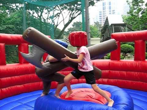 Interactive game gladiator dome rental singapore