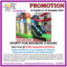 2019 Year end Promotion : bouncy castle rental for cheap Singapore
