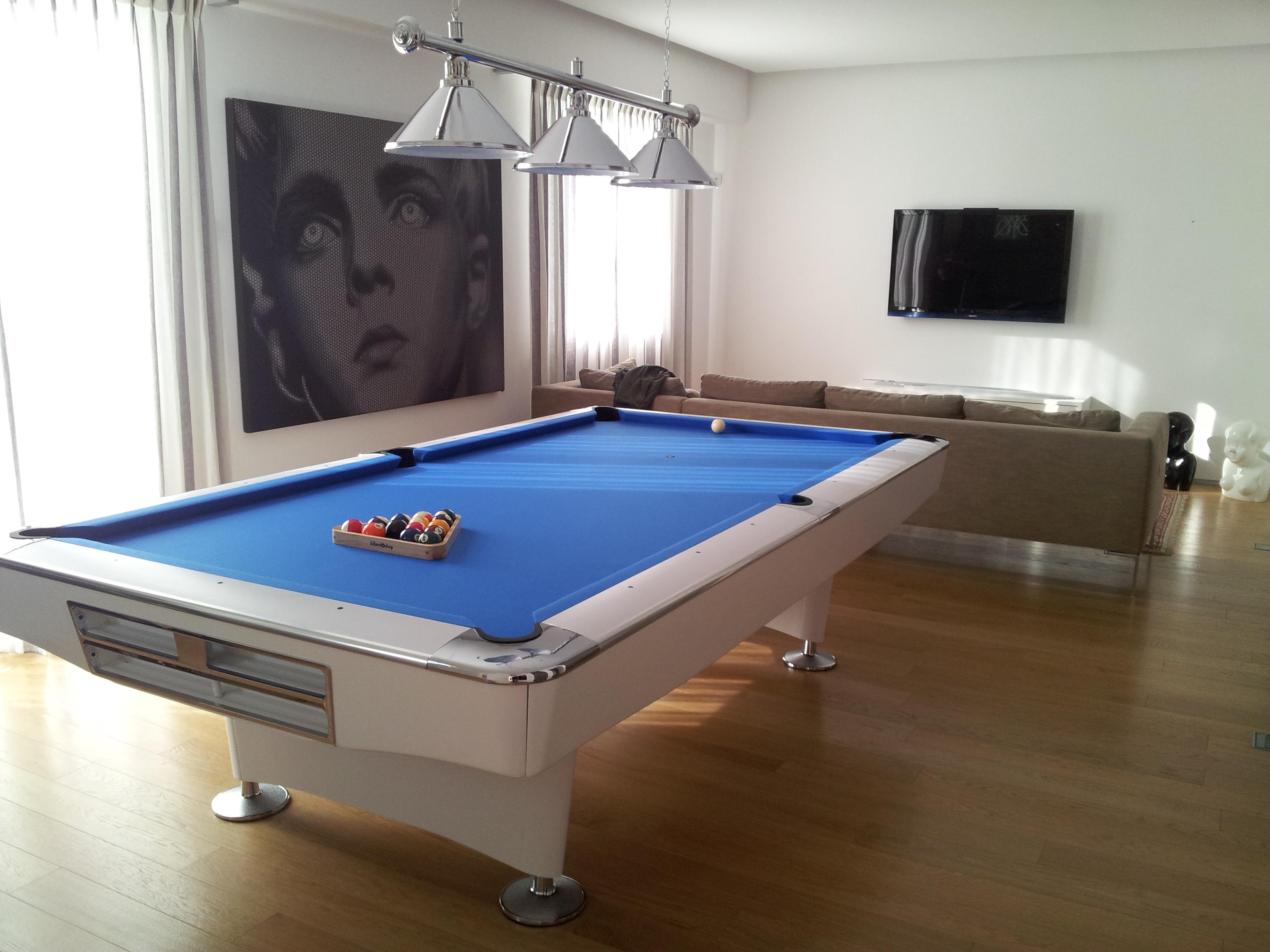 Biliardo pool Prolive Bianco 9 piedi
