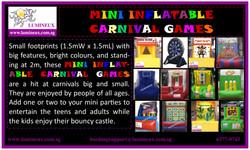Mini carnival games 2016