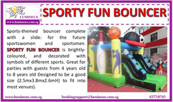Sporty Fun Bouncer