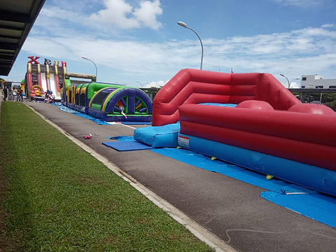 Inflatable obstacle course renta singapore