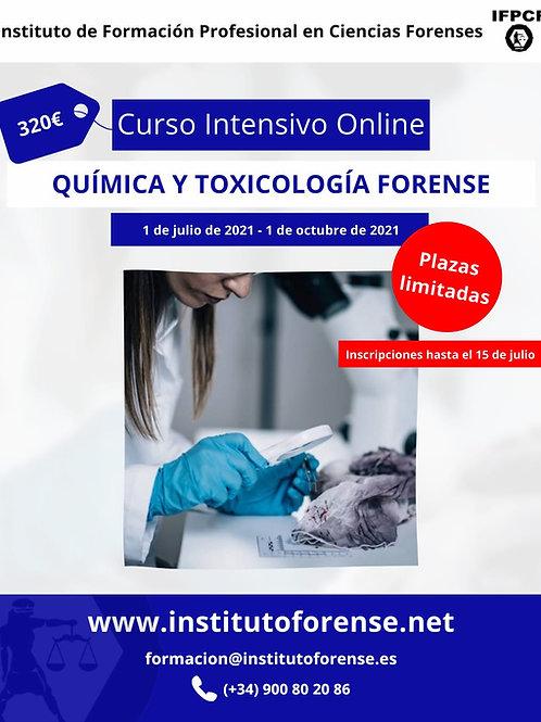 Curso Online Intensivo en Química Forense y Toxicología