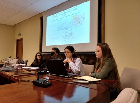 Participación en las Jornadas de Jóvenes Investigadores en Arqueología en la Universidad Complutense