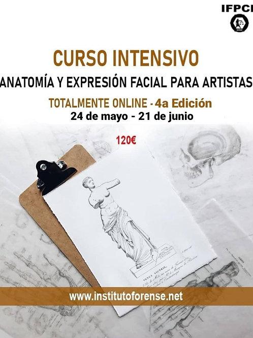 Curso Online Intensivo en Anatomía y Expresión Facial