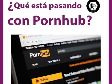 ¿Qué pasa con PornHub?
