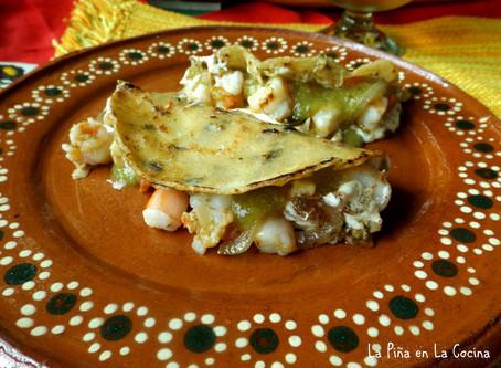Tacos Gobernador(Shrimp Tacos)