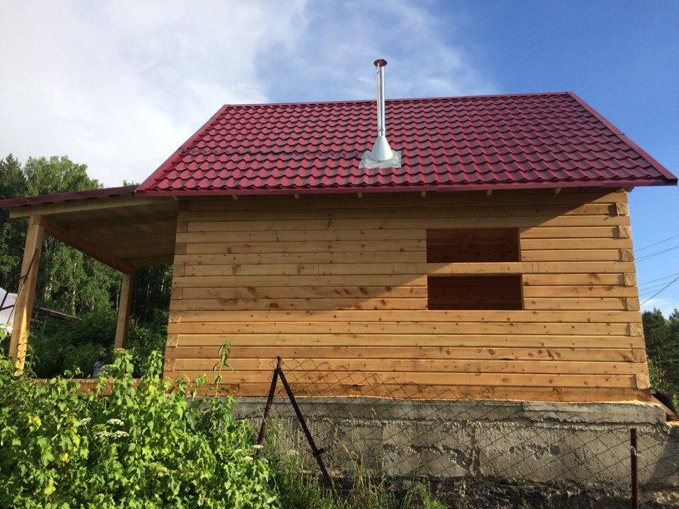 Дом из строганного кедра 6*6