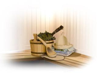 Строительство деревянной бани.