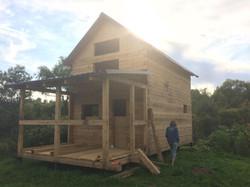 Дом из бруса пихты 6х6