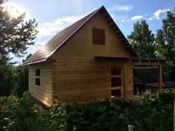 Дом из строганного кедра