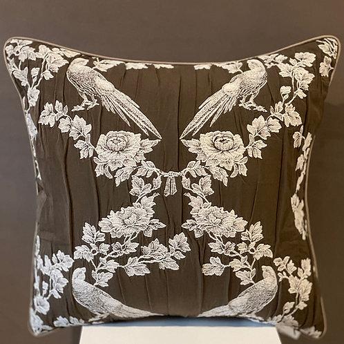 Mula Deco|義大利提花手工抱枕 50cm
