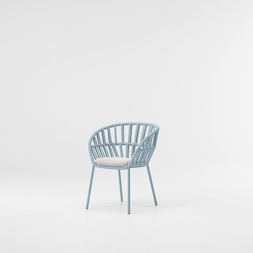 Kettal|Cala (Stackable Dining Armchair) by Doshi Levien