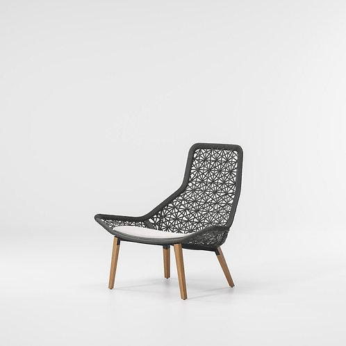 Kettal|Maia (Relax Armchair Teak Legs) by Patricia Urquiola