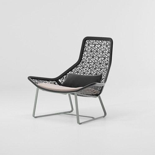 Kettal|Maia (Relax Armchair Aluminium Legs) by Patricia Urquiola