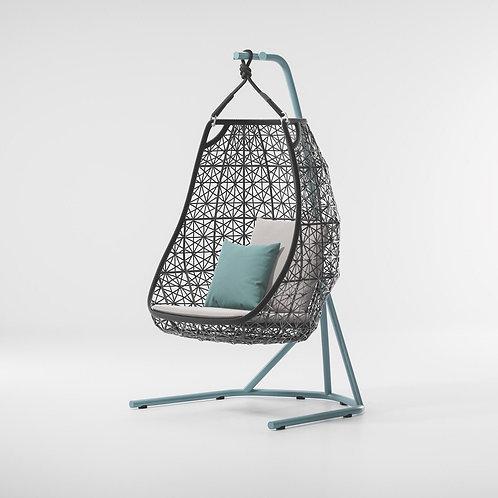Kettal|Maia (Egg Swing) by Patricia Urquiola