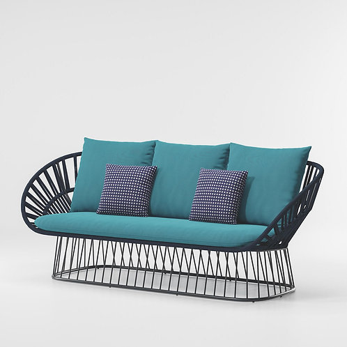 Kettal|Cala (3 Seater Sofa) by Doshi Levien