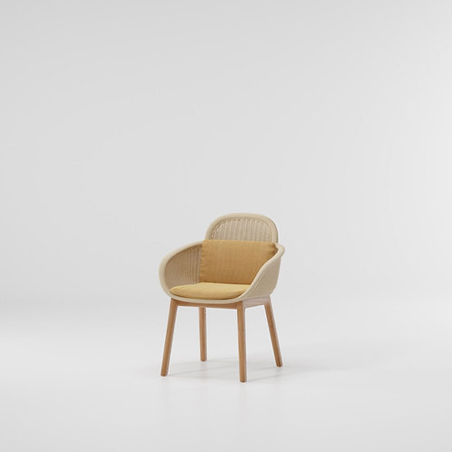Kettal|Vimini (Dining Armchair) by Patricia Urquiola