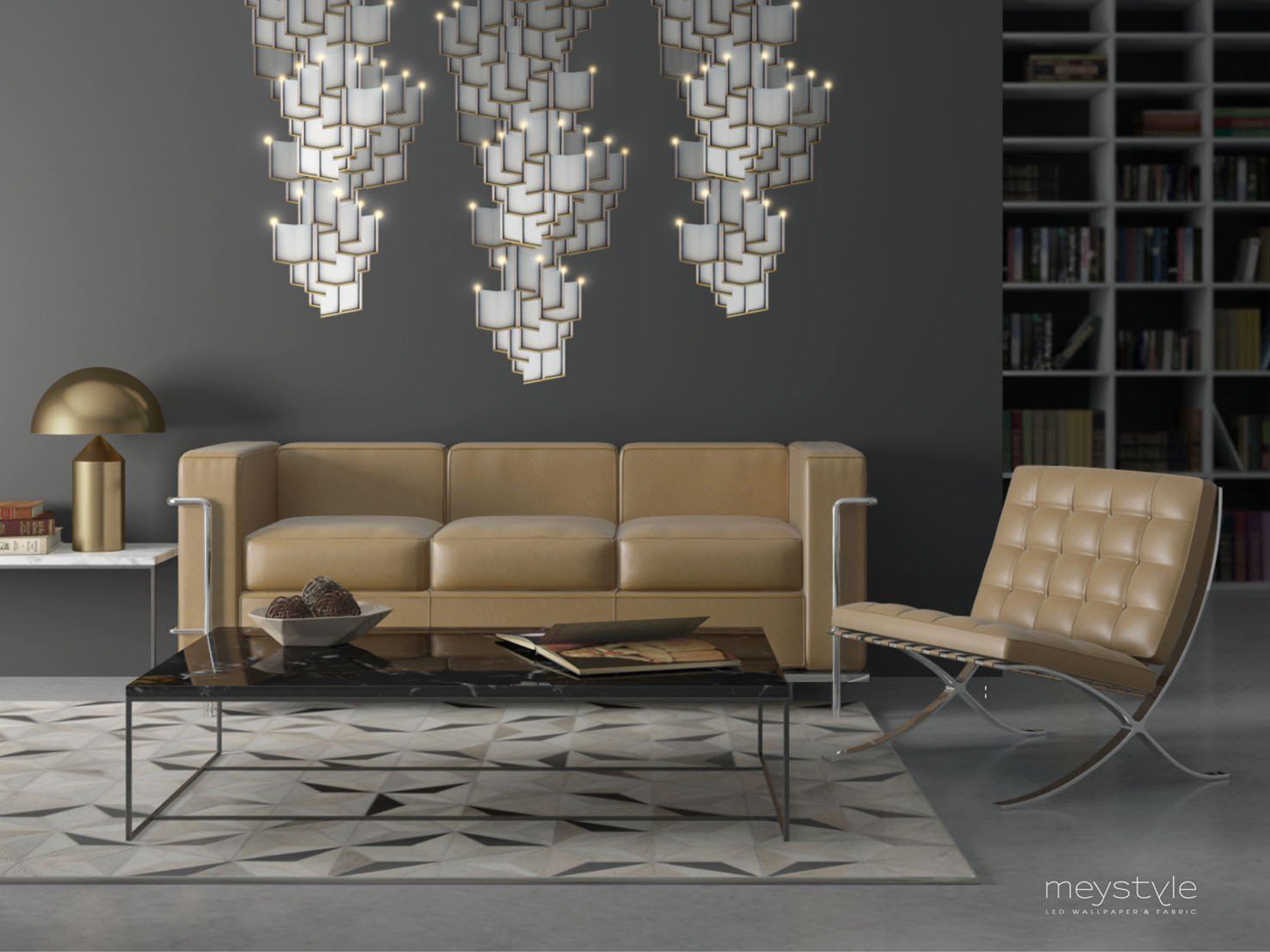 Lattice_Systems_LED_Wallpaper_Chandelier
