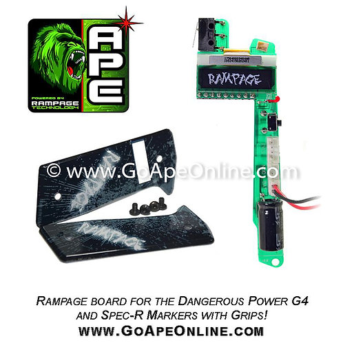 Rampage OLED Board for the Dangerous Power G4 w/Grips