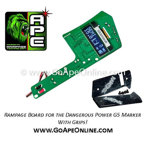 Rampage OLED Board for the Dangerous Power G5 w/Grips