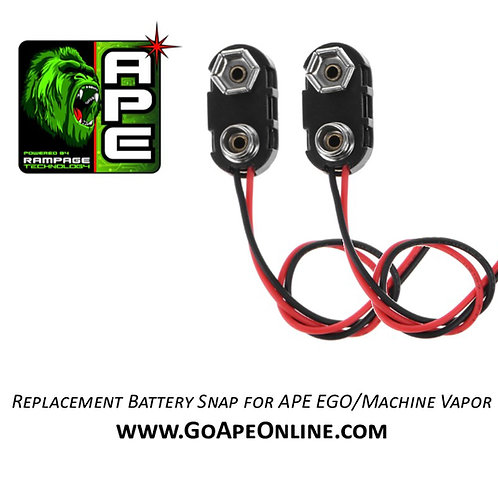 Replacement Battery Snap for APE EGO/Machine Vapor