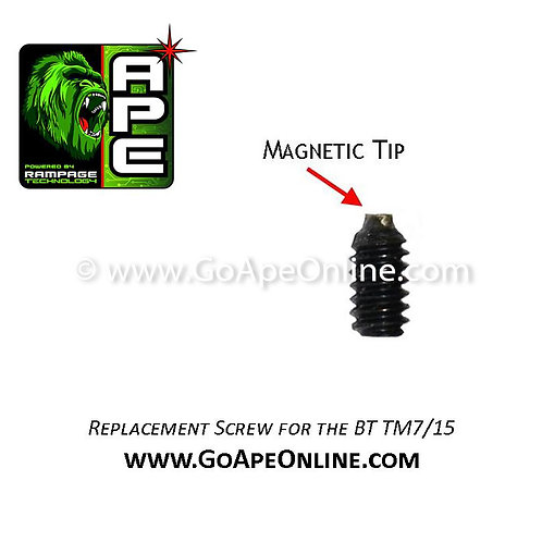 Replacement Magnetic Screw for the BT TM-7/15