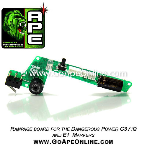 Rampage LED Board for Dangerous Power G3 / E1